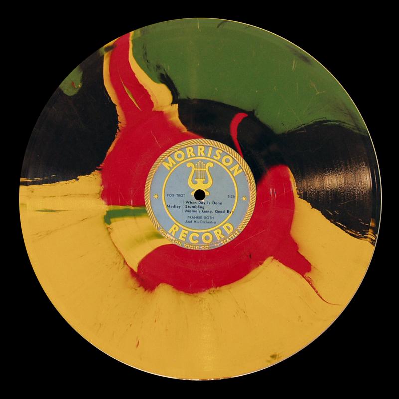morrison records multi colored 10 inch vinyl